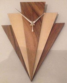 art deco style wall clock | eBay