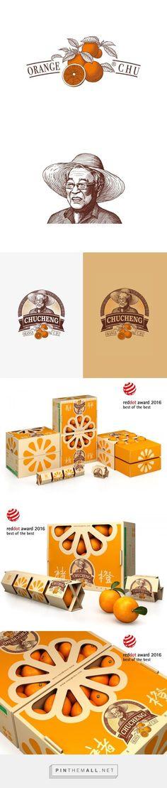 Chu's Orange Packaging and Logo Design by Tiger Pan | Fivestar Branding Agency – Design and Branding Agency
