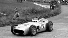 1954 Mercedes-Benz W196 Silver Arrow | The F1 Champion Car Driven by Argentinian Driver Juan Manuel Fangio, Sold at Auction in 2013 by Breaking All Previous Records For $29.7m