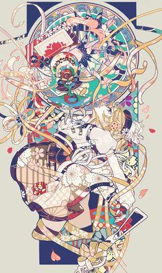 Mami Tomoe from Madoka Magica. Manga Anime, Fanarts Anime, Manga Art, Anime Characters, Madoka Magica, Mononoke Anime, Film Animation Japonais, Character Art, Character Design