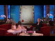▶ Exclusive! Sophia Grace & Rosie on Their Letter to Santa on Ellen - YouTube
