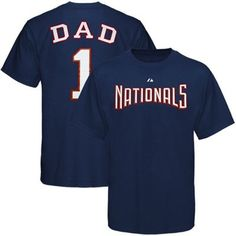 Majestic Washington Nationals Father's Day T-Shirt