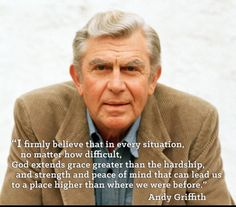 Andy Griffith quote