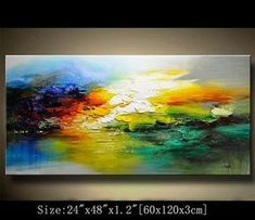 This painting is definitely a great gift.Its also Perfect choice for home and office decorations. Medium: Acrylic on gallery-wrapped stretched canvas, palette knife The painting will be painted with a palette knife and will be ready to hang. The painting will be signed on the front by