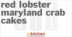 Be the first to upload an photo of Red Lobster Maryland Crab Cakes