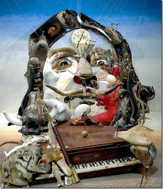 Anamorphose-illusion d'optique-bernard pras-dali-www.wonderful-art.fr