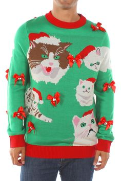 902e40f26 84 Best Tacky Holiday Sweaters images