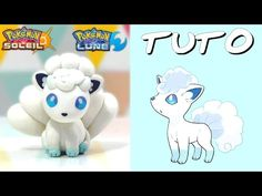 Vulpix Pokémon Sun & Moon polymer clay tutorial