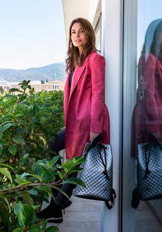 Τσάντα Backpack Lovely Handmade Dourvas Remvi - Miss Pinky Backpacks, Relationship Rules, Blazer, Womens Fashion, Handmade, Jackets, Bags, Down Jackets, Handbags