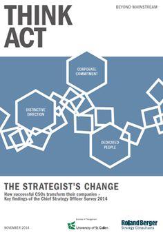The strategist's change