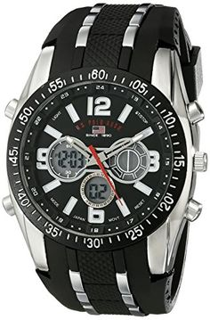 US Polo Assn Sport Mens US9281 Sport Watch *** Click on the image for additional details.Note:It is affiliate link to Amazon.