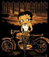 Betty Boop - Rebel Rider