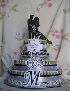 Money For Wedding Gift Cash Or Check : Check out MONEY CAKE Large
