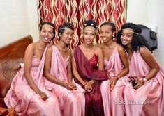 Traditional Wedding Attire, Traditional Outfits, Traditional Weddings, African Wear, African Fashion, Bridesmaid Dresses, Wedding Dresses, Bridesmaids, African Wedding Attire