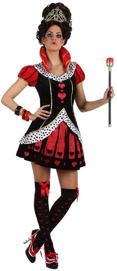 Disfraz Reina de corazones adulto. Disponible en www.vegaoo.es