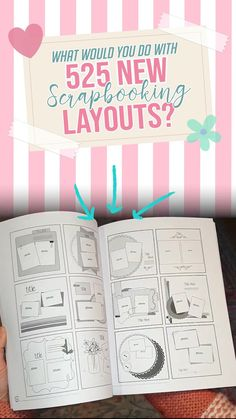 Get Hundreds Of Inspiring Scrapbook Page Ideas, Layouts And Sketches! Learn How To Scrapbook MORE Pages In Less Time! School Scrapbook Layouts, Album Scrapbook, Project Life Scrapbook, Project Life Layouts, Scrapbook Layout Sketches, Project Life Cards, Scrapbook Journal, Baby Scrapbook, Card Sketches