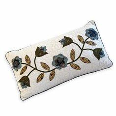 Embroidered Hummingbird Throw Pillows   Hummingbird, Throw pillows ...