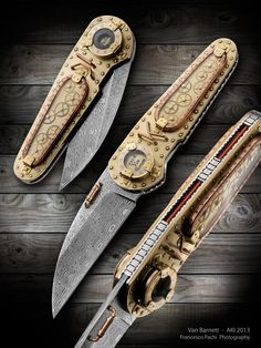 Steampunk Tendencies   Knives by Van Barnett https://www.facebook.com/groups/steampunktendencies/permalink/654411641279942/ New Group : Come to share, promote your art, your event, meet new people, crafters, artists, performers... https://www.facebook.com/groups/steampunktendencies