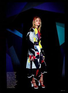 Martha Hunt by Yelena Yemchuk for Elle US April 2014
