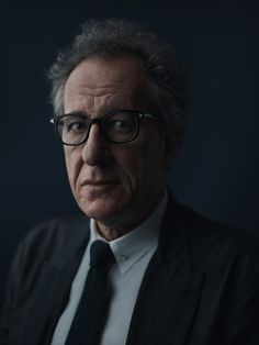 Portrait of Geoffrey Rush, Actor by Joey L.   Use of single light...