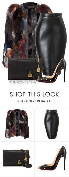 """""""Untitled #1223"""" by tamararenaye ❤ liked on Polyvore featuring Tom Ford and Christian Louboutin"""