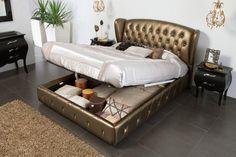 Bedroom  Furniture Modern  Bedrooms Elizabeth 662 w/Storage