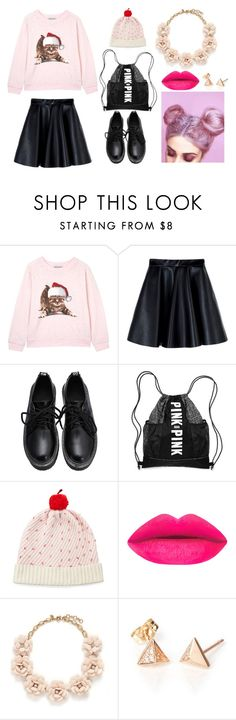 """""""My Kitty"""" by hien-anhhs on Polyvore featuring Wildfox, MSGM, Kate Spade and J.Crew"""