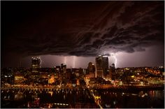 Storm over Pittsburgh . . .