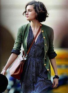 海外カジュアルに学ぶカーディガンコーデの着こなし術34選♪の28番目の画像