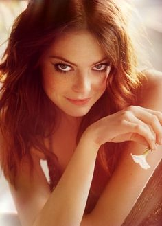 "Emma Stone- ""Zombieland,"" ""Easy A,"" upcoming ""Spiderman.""