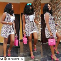 Weekend Ankara Styles For Ladies African Fashion Ankara, Latest African Fashion Dresses, African Dresses For Women, African Print Fashion, African Attire, African Wear, African Women, African Print Pants, African Print Dresses