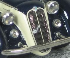 Alfa Romeo 6c 2300 Lungo Cabriolet Pininfarina 1947 - Vittorio Emanuele III - Alfa Model 43
