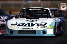 1982 David Hobbs drives the Porsche 935/78-81 JR-002 en route to finishing 4th with co-driver and car owner John Fitzpatrick.