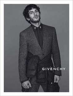 Spanish actor Quim Gutiérrez front the Fall Winter 2013 campaign of  Givenchy, photographed by Mert Alas   Marcus Piggott and styled by Carine  Roitfeld. f03dd9c28e