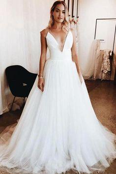 Elegant V-Neck Applique Wedding Dresses UK Sheer Cheap Sleeveless Floral Bridal Gowns Sheer Wedding Dress, Wedding Dresses Uk, Bridal Gowns, Bridesmaid Dresses, Prom Dresses, Evening Dresses, Gown Wedding, Tulle Wedding, Summer Dresses