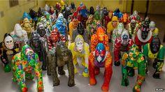 Destination: Norwich. Go Go Gorillas in a conservation art trail through the city centre
