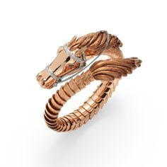 David Webb gold and ruby brooch. Photo courtesy of David Webb A Carved Coral, Coral and Emerald Horse Bangle Bracelet, by Van Cleef. Equestrian Jewelry, Horse Jewelry, Equestrian Style, Animal Jewelry, Jewelry Trends, Jewelry Accessories, Jewelry Design, Jewelry Ideas, Gold Jewelry