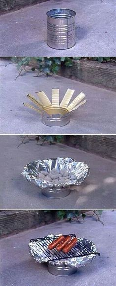 Can stove grill