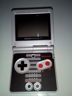 Console GBA SP Nes