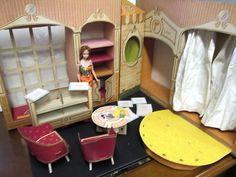 Vintage barbie fashion shop