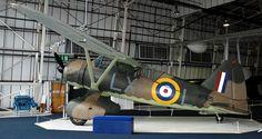 Westland Lysander, RAF Museum, Hendon.