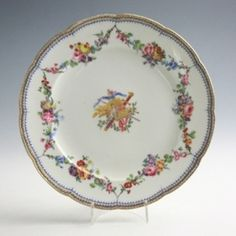 Tableware: A Group of Sèvres Plates from the Leinster Service