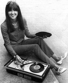 Cathy McGowan was a British broadcaster and journalist, best known as a host of the popular rock music TV show, 'Ready Steady Go!' Called 'Queen of the Mods', McGowan was looked on as the symbol of the new swinging sixties teenager.