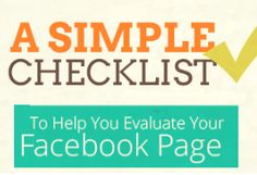 """Evaluate Your Facebook Page With This Simple Checklist [INFOGRAPHIC] -- Check out ShortStack's infographic to evaluate whether your Facebook page is optimized for maximum fan engagement."""