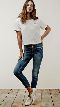WEAR DENIM - MUJER | Stradivarius Colombia Latest Clothing Trends, Turkey, Skinny Jeans, Denim, How To Wear, Pants, Clothes, Collection, Women