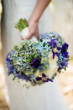 Rustic-Chic Bouquet  Photography: Next Exit Photography Read More: http://www.insideweddings.com/weddings/melissa-claire-egan-and-matthew-katrosar/588/
