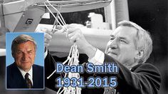 Hall of fame North Carolina Coach Dean Smith passes away at 83! #UNC #Tarheels #MBB