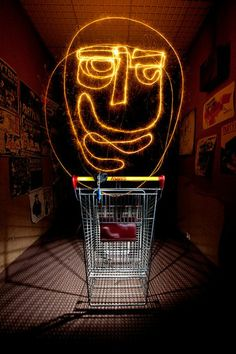 Awesome Long-Exposure Light Drawings by Vincent Delesvaux