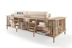 Scaffold - Un canapé et bien plus encore... Design André Teoman pour WeWood / Yookô