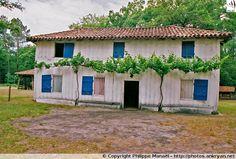 Maison du berger (Écomusée de Marquèze - Landes, Aquitaine)